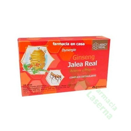 JALEA REAL FRESCA + GINSENG DYNERGIE ARKOREAL 15