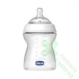 BIBERON CHICCO SILICONA 0 BPA PLASTICO PP STEP 4M+ 250 ML