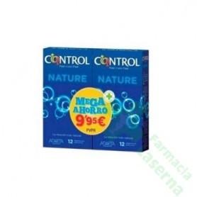CONTROL NATURE PRESERVATIVOS PACK MEGAPRECIO 24 UDS