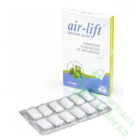 AIR LIFT CHICLE DENTAL 12 UDS