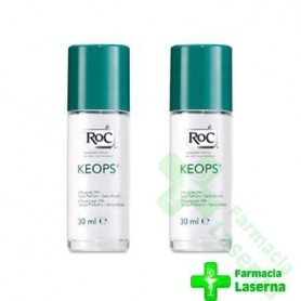 ROC KEOPS DESODORANTE SIN ALCOHOL ROLL-ON 30 ML: DUPLO