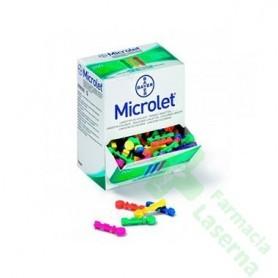 MICROLET LANCETS 25 UDS