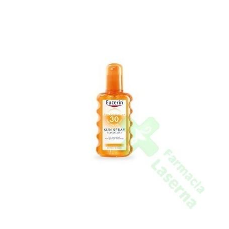 EUCERIN SOLAR SPRAY TRANSPARENTE SFP30 200 ML