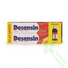 PACK DESENSIN PLUS PASTA DENTAL + COLUTORIO 150 ML
