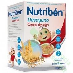 NUTRIBEN DESAYUNO COPOS DE TRIGO 750G