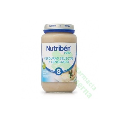 NUTRIBEN 250 LENGUADO VERDURAS