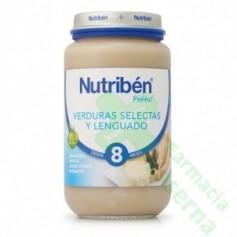 NUTRIBEN LENGUADO VERDURAS 250 G