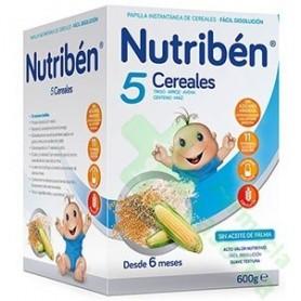 NUTRIBEN 5 CEREALES 600 G