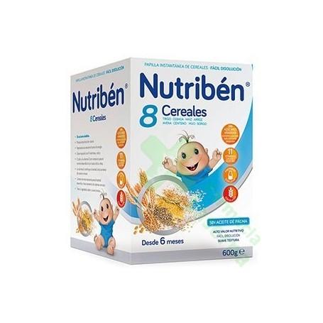 NUTRIBEN 8 CEREALES 600G