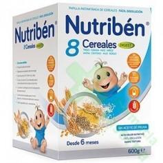 NUTRIBEN PAPILLA 8 CEREALES EFECTO BIFIDUS 600G