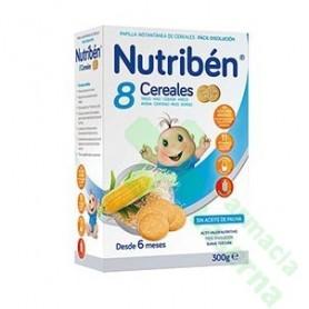NUTRIBEN 8 CEREALES GALLETAS MARIA 300G