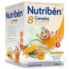 NUTRIBEN 8 CEREALES MIEL 600G