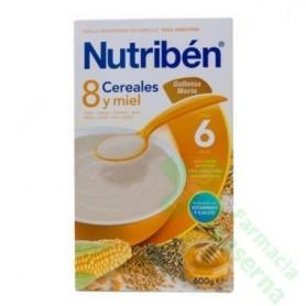 NUTRIBEN 8 CEREALES MIEL MUESLI 600G