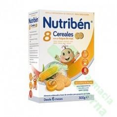 NUTRIBEN 8 CEREALES MIEL GALLETAS 300G