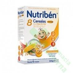 NUTRIBEN 8 CEREALES MIEL FIBRA 300G