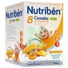 NUTRIBEN 8 CEREALES MIEL FRUTAS 600G