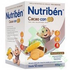 NUTRIBEN CACAO CON GALLETAS MARIA 500G