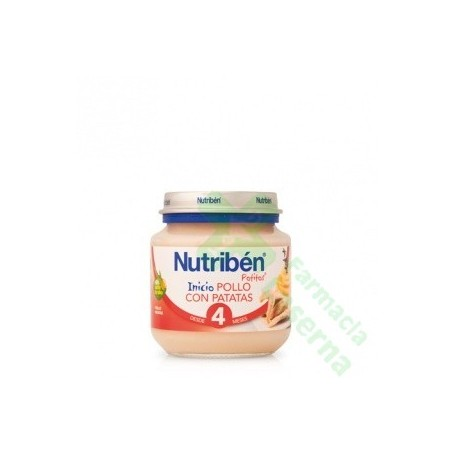 NUTRIBEN BEBE INICIO POLLO PATATA 130 G