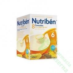 NUTRIBEN 8 CEREALES Y MIEL 600G 2 UDS
