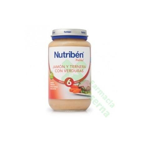 NUTRIBEN JAMON TERNERA VERDURAS 250 G