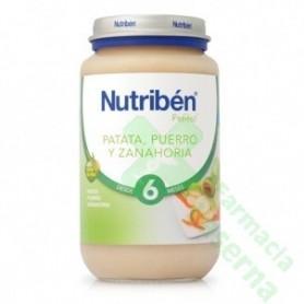 NUTRIBEN PATATA PUERRO ZANAHORIA 250 G