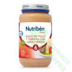 NUTRIBEN POLLO TERNERA A LA CASERA 250 G