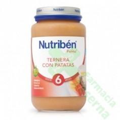 NUTRIBEN TERNERA PATATAS 250 G