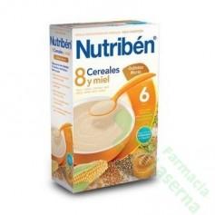 NUTRIBEN 8 CEREALES Y MIEL GALLETAS MARIA (PACK PROMOCIONAL)