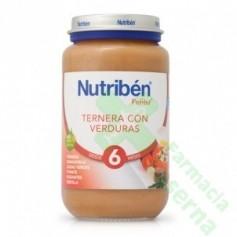 NUTRIBEN TERNERA VERDURA 250 G