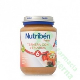 NUTRIBEN JUNIOR TERNERA VERDURAS 200 G