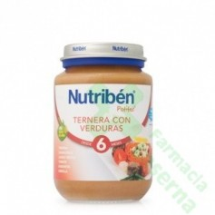 NUTRIBEN JUNIOR TERNERA VERDURAS 200 G