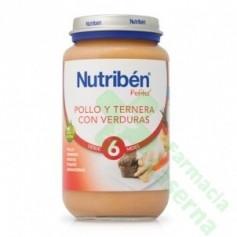 NUTRIBEN POLLO TERNERA VERDURA 250 G