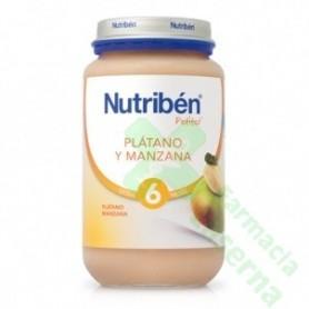NUTRIBEN PLATANO Y MANZANA 250 G