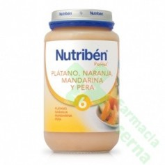 NUTRIBEN PLATANO NARANJA MANDARINA PERA 250 G