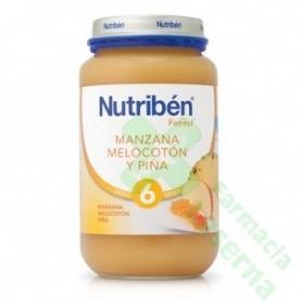 NUTRIBEN MANZANA MELOCOTON PIÑA 250 G