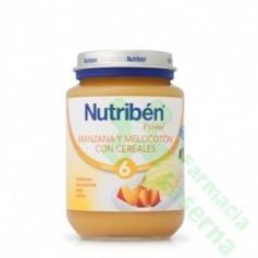 NUTRIBEN JUNIOR MANZANA MELOCOTON CEREALES
