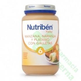NUTRIBEN MANZANA NARANJA PLATANO 250 G