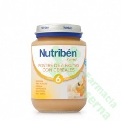NUTRIBEN JUNIOR POSTRE FRUTAS CEREALES