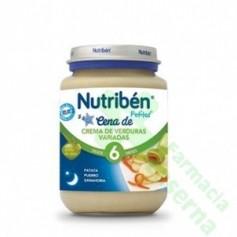 NUTRIBEN POTITO CREMA VERDURAS VARIADAS JUNIOR 200 G