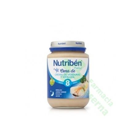 NUTRIBEN CENA CREMA VERDURAS MERLUZA 200 G