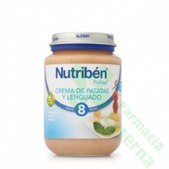 NUTRIBEN JUNIOR LENGUADO PATATA 200 G