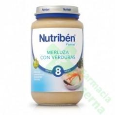NUTRIBEN MERLUZA VERDURAS 250 G