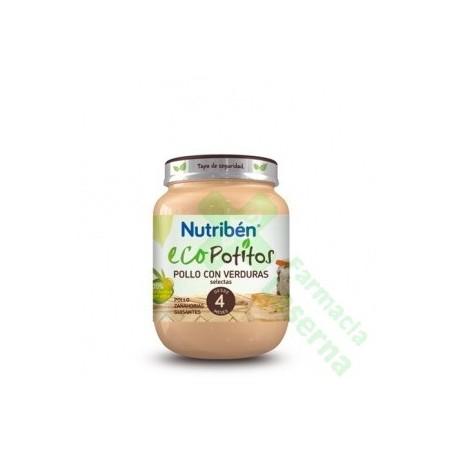 NUTRIBEN ECO POLLO CON VERDURAS SELECTAS POTITO 130 G