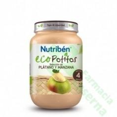 NUTRIBEN ECO SELECCION PLATANO Y MANZANA POTITO 200 G