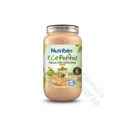 NUTRIBEN ECO POLLO CON VERDURAS SELECTAS POTITO 250 G