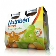NUTRIBEN ZUMO FRUTAS VARIADAS 2X130G