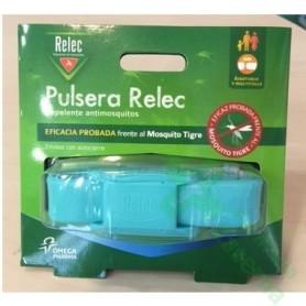 RELEC PULSERA ANTIMOSQUITOS REPELENTE COLOR TURQUESA