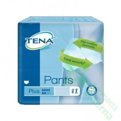 TENA PANTS PLUS ABSORB LARGE 14 UDS