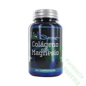 BIE3 SPORT COLAGENO MAGNESIO 250 COMP