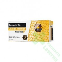 FARMAVITAL JALEA VITAMINADA AMP BEBIBLE 10 ML 20 AMP